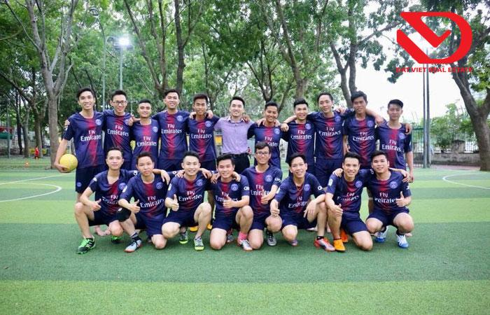 Đẩy mạnh hoạt động thể dục – thể thao tại công ty Cổ phần Địa ốc Đất Việt thumbnail