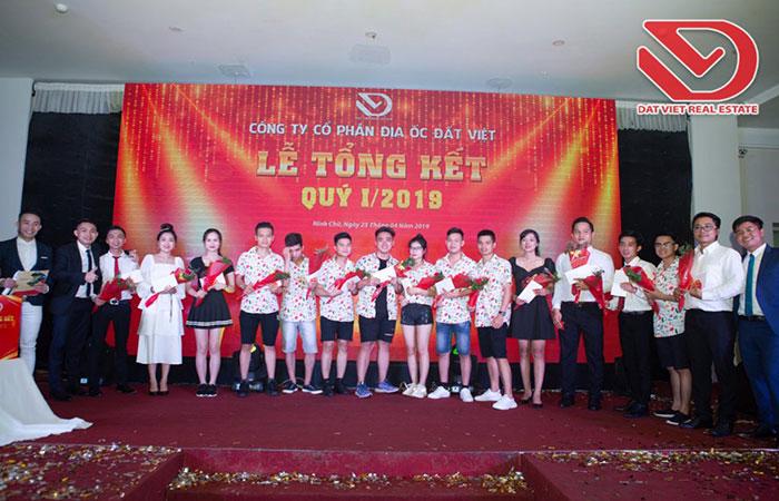 Công ty Cổ Phần Địa ốc Đất Việt tổng kết Quý I năm 2019
