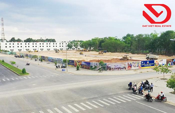 Đất nền khu vực trung tâm hành chính huyện Trảng Bom thu hút nhà đầu tư