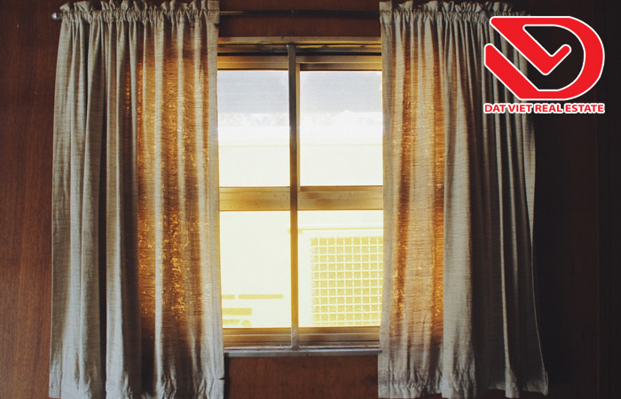 Hướng dẫn chọn màu rèm cửa cho phòng căn hộ chung cư hợp phong thủy