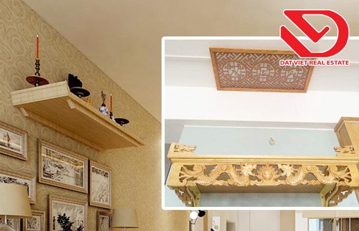 Top 5 Lưu ý khi đặt bàn thờ thần tài, ông địa trong căn hộ chung cư