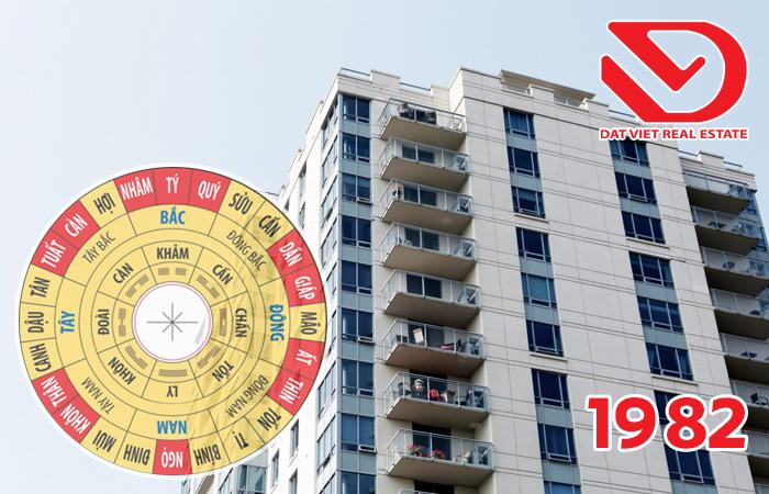 Mua căn hộ chung cư hướng nào hợp phong thủy với gia chủ Nam 1982 (Nhâm Tuất)