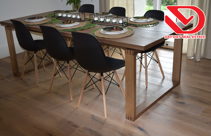 Vị trí đặt bàn ăn trong căn hộ chung cư hợp phong thủy