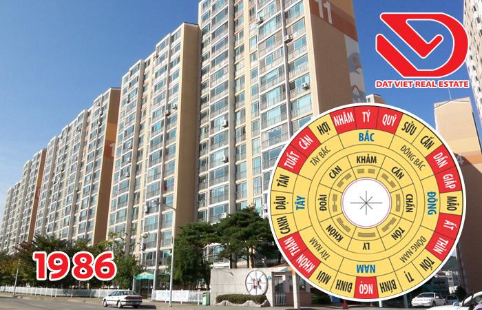 Mua căn hộ chung cư hướng nào hợp phong thủy với gia chủ Nam 1986 (Bính Dần)