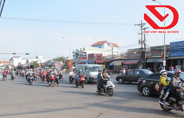 Khu vực ngã ba Trị An, huyện Trảng Bom.