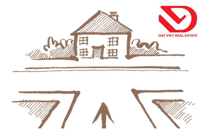 Không mua mảnh đất nền xây nhà có trục đường chính đâm thẳng