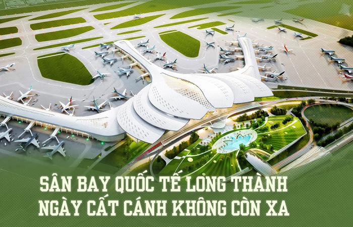 Sân bay quốc tế Long Thành ngày cất cánh không còn xa